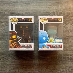 Pop! Marvel: Hydro-Man & Molten Man